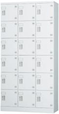 18人用ロッカー(3列6段) GLK-S18T 幅900×奥行380×高さ1790