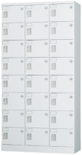 24人用ロッカー(3列8段) GLK-S24T 幅900×奥行380×高さ1790