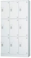 9人用ロッカー(3列3段) GLK-S9DTS 幅900×奥行450×高さ1790