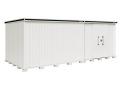 ヨド物置 エルモ LMDS-6529HBR 積雪地型 背高Hタイプ 幅6531×奥行2914×高さ2355.5mm