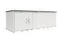 ヨド物置 エルモ LMD-7225HL 一般地型 背高Hタイプ 幅7232×奥行2563.5×高さ2355.5mm