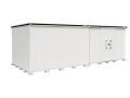 ヨド物置 エルモ LMD-7229HR 一般地型 背高Hタイプ 幅7232×奥行2914×高さ2355.5mm