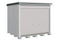 ヨド物置 エルモシャッター LOD-2525HF 一般型 床タイプ 幅2564×奥行2564×高さ2356