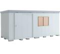 イナバ 断熱物置 NEXTA+(ネクスタプラス) 扉タイプ NXP-100HT(ハイルーフ)一般型 間口5260×奥行1790×高さ2375mm