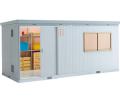 イナバ 断熱物置 NEXTA+(ネクスタプラス) 扉タイプ NXP-120HT(ハイルーフ)一般型 間口5260×奥行2210×高さ2375mm