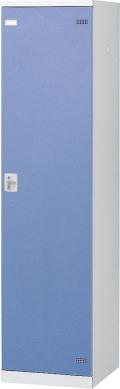 SLBB-1-S2 (シリンダー錠・扉色 ブルー) SEIKO FAMILY 生興 1人用ロッカー 幅450×奥行515×高さ1800mm