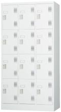 スチール12人用ロッカー※ダイヤルロック式(受注生産・納期約1ヶ月) TLK-D12N 幅900×奥行515×高さ1790