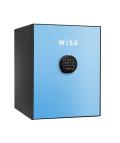 WS500ALB(ライトブルー) 【設置費0円】 ディプロマット プレミアムセーフ WISE(ワイズ) テンキー式耐火金庫  【本体+フロントパネル】