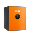WS500ALO(オレンジ)【設置費0円】 ディプロマット プレミアムセーフ WISE(ワイズ) テンキー式耐火金庫  【本体+フロントパネル】