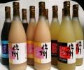信州産 果汁100%フルーツジュースセット 780ml×10本(りんご4本,ピーチ4本,ぶどう2本)【714】送料無料
