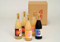 信州産 果汁100%フルーツジュースセット 780ml×5本(りんご2本,ピーチ2本,ぶどう1本)【712】送料無料