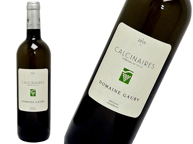 Domaine Gaubyドメーヌ・ゴビー Côtes Catalanes – Calcinaires Blanc IGPコート・カタラン カルシネール・ブラン2016