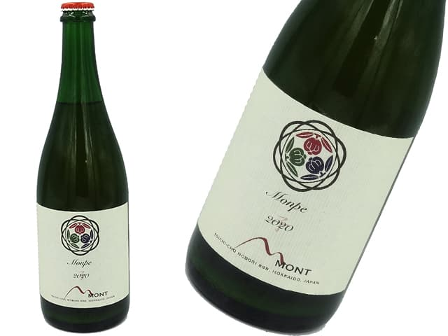 ドメーヌモン Monpe 微発砲 白(オレンジワイン)2020