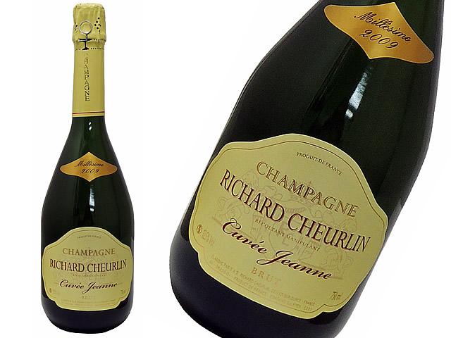 RICHARD CHEURLIN リシャール・シュルラン シャンパーニュ・キュヴェ・ジャンヌ2009