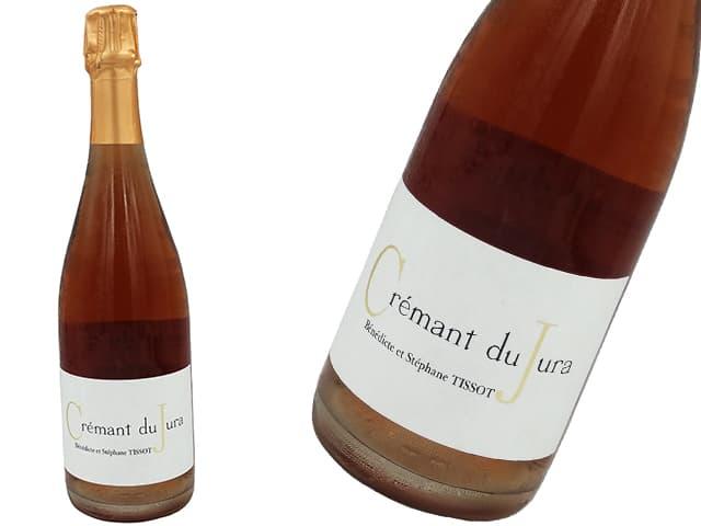ステファン・ティソ/STEPHANE TISSOT クレマン・デュ・ジュラ ロゼ/Crémant du Jura Rosé (ロゼ・泡)