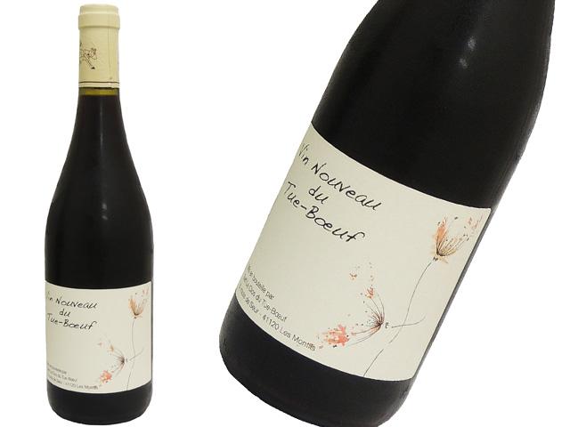 Vin Nouveau du Tue-Bœuf 2018 ティエリー・ピュズラ  ヴァン・ヌーヴォー・デュ・チュ=ブッフ ガメイ(赤)