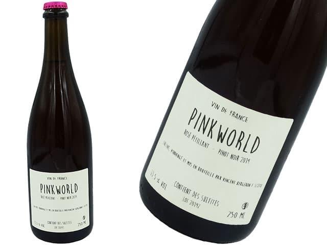 Vincent Bergeron / Rose Petillant Pinkworld ヴァンサン・ベルジュロン/ロゼ ペティアン ピンクワールド