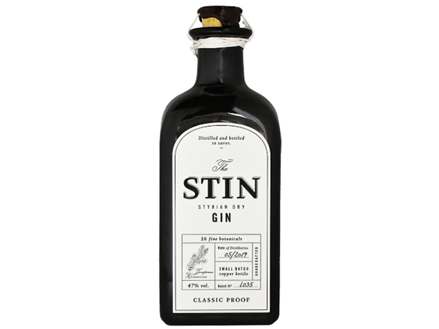 STIN STYRIAN DRY GIN スティン ドライジン 47%