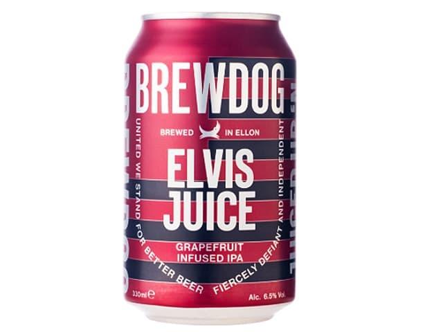 BREWDOG ブリュードッグ / ELVIS JUICE グレープフルーツIPA缶