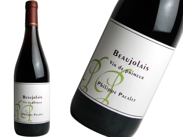 Philippe Pacaletフィリップ・パカレ / Beaujolais Vin de Primeur ボージョレ・ヴァン・ド・プリムール(ヌーヴォー)2019