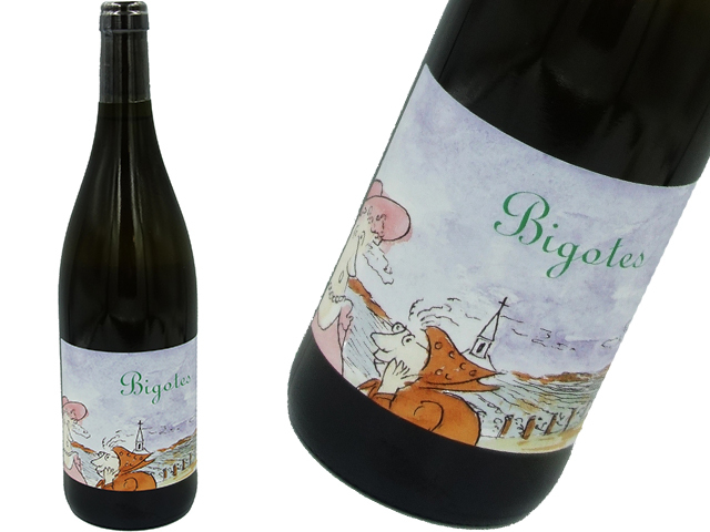 "Frédéric Cossard フレデリック・コサール/"" Bigotes"" Bourgogne Chardonnay ビゴット ブルゴーニュ シャルドネ 2018"
