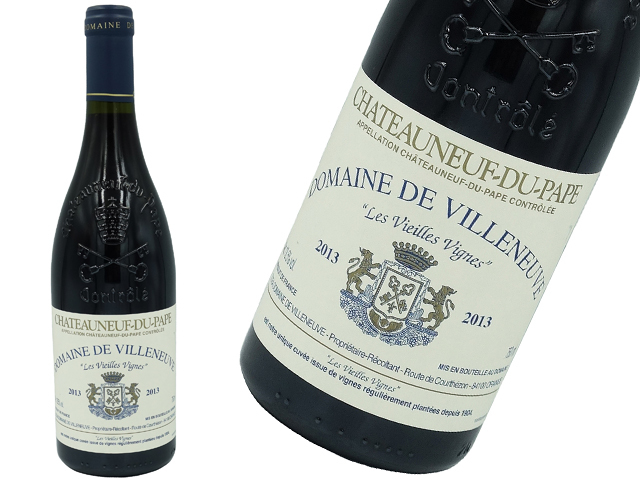 Domaine De Villeneuve ドメーヌ・ド・ヴィルヌーヴ  Châteauneuf Du Pape  シャトーヌフ・デュ・パプ2013