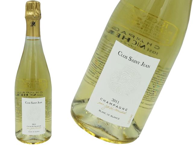 ジョゼ・ミッシェル Jose Michel /クロ・サン・ジャン・ブラン・ド・ブラン Clos Saint Jean Blanc de Blancs2011