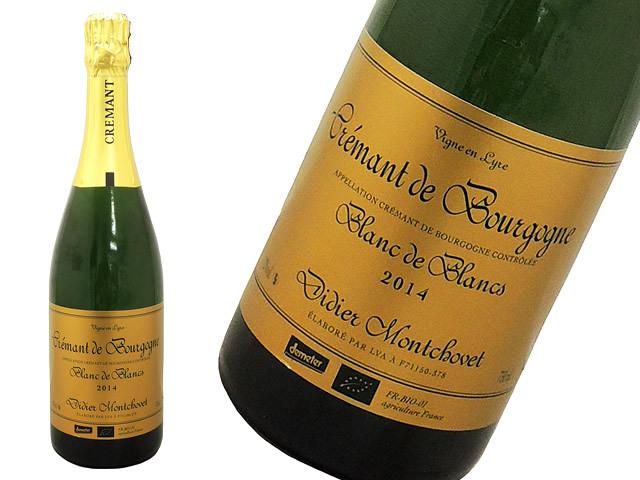 クレマン・ド・ブルゴーニュ2014ドメーヌ・ディディエ・モンショヴェ Cremant de Bourgogne Didier MONTCHOVET