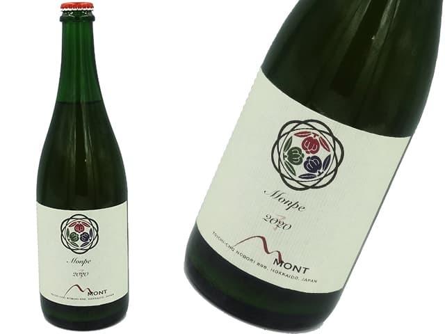 ドメーヌモンが醸造したペティアン Monpe(モンペ)