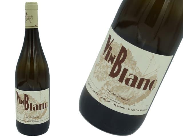 Le Clos du Tue-Boeuf ル・クロ・デュ・チュ=ブッフ Le P'tit Blanc ル・プティ・ブラン 750ml