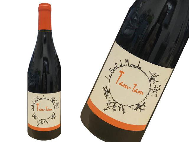 Le Bout de Mondeル・ブ・デュ・モンドTam Tam タンタン (赤ワイン)750ml