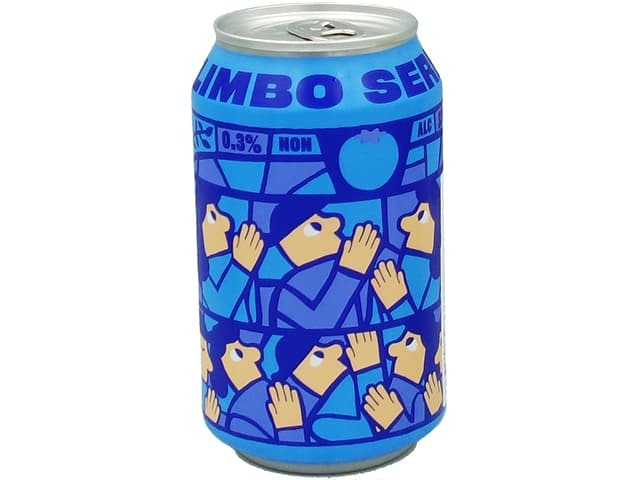 Mikkeller / Limbo Seriesブルーベリー CAN  0.3度