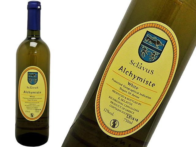 ギリシャワイン Sclavus Blanc スクラヴォス ブラン