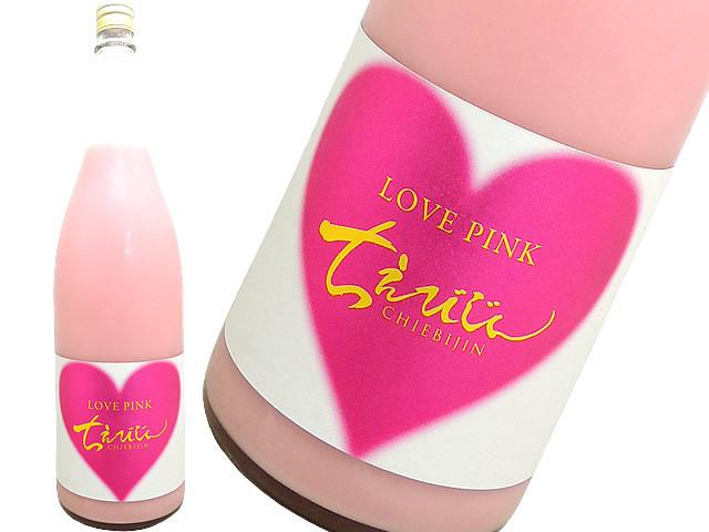 ちえびじん 桃色にごり酒 LOVE PINK 弱火入れ