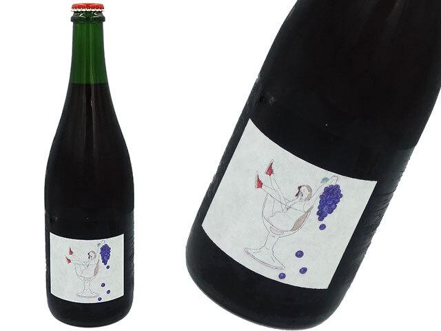 清澄白河フジマル醸造所 巨峰 ペットナット 赤・微発泡