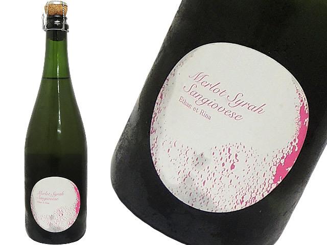 福山ワイン工房 Merlot Syrah Sangiovese 2016 赤泡