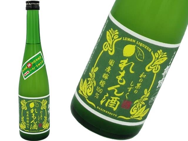 10周年記念限定『生』萩乃露 和の果のしずく れもん酒