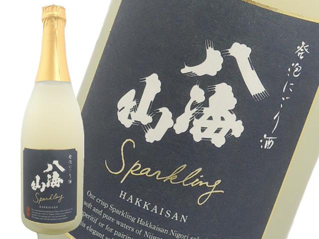 八海山 発泡にごり酒 スパークリング