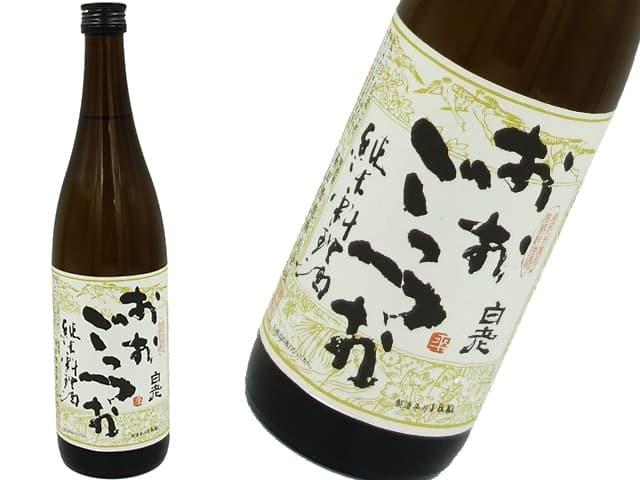 白老 おおごっつお(純米料理酒)