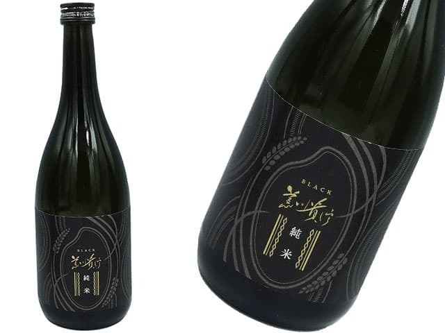 蓬莱泉 純米酒 BLACKブラック14度 精米歩合 45%