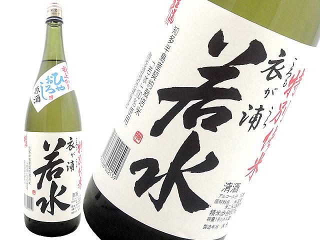 生道井(いくじい) 若水 特別純米ひやおろし