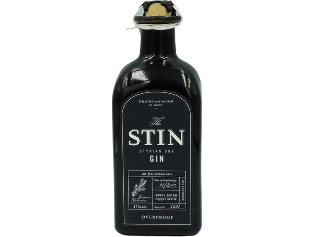 STIN スティン オーバープルーフジン 57%