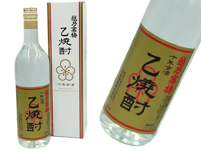 越乃寒梅 十年古酒乙焼酎