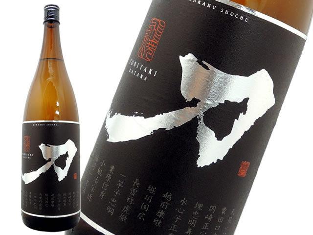 芋焼酎刀TOBIYAKI〈飛焼〉 KATANA25度