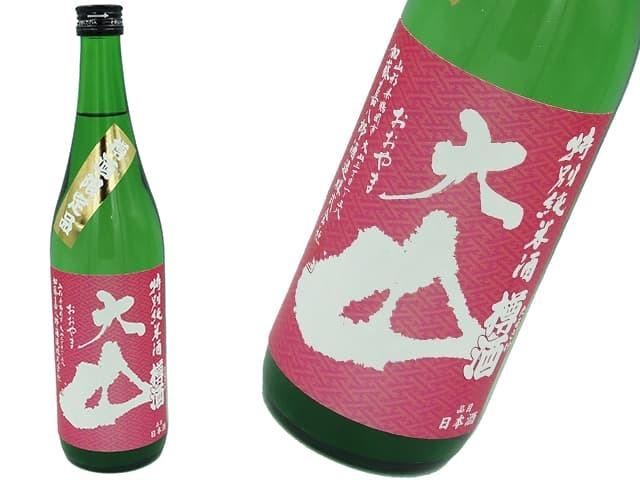 大山 特別純米 樽酒