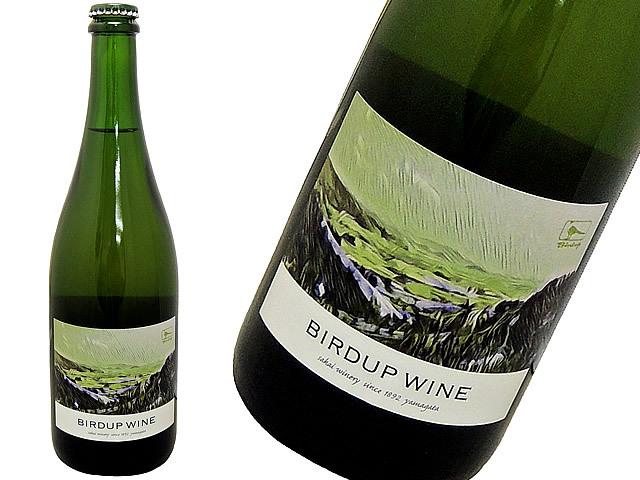 酒井ワイナリー バーダップワイン 白 2016 BIRDUP WINE ニューラベル