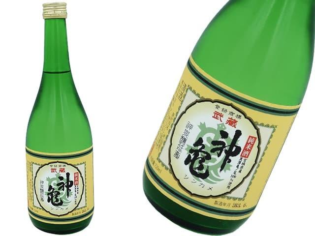 神亀 純米酒 亀ノ尾 火入