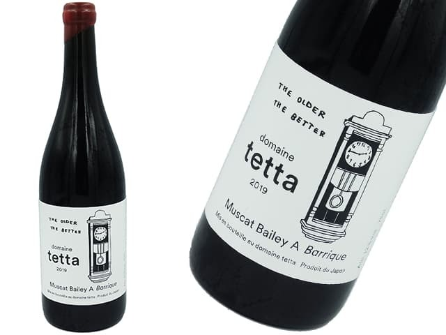 domaine tetta ドメーヌテッタ 2019 Muscat Bailey A Barrique
