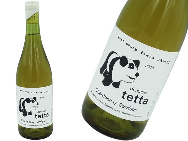 Domaine tetta<br>ドメーヌテッタ<br>Chardonnay Sans Soufre 2018