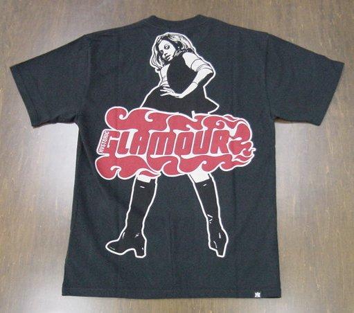 HYSTERIC GLAMOUR ヒステリックグラマー 2020年・春夏新作 VIXEN GIRL オーバーサイズ Tシャツ 02202CT17